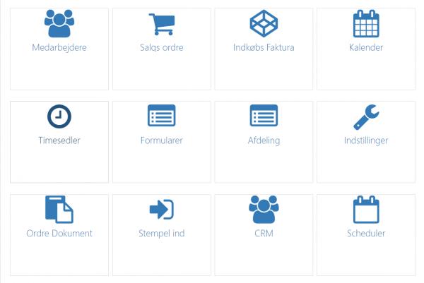 e-timer admin menu