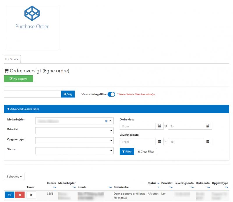 e-timer field-user menu